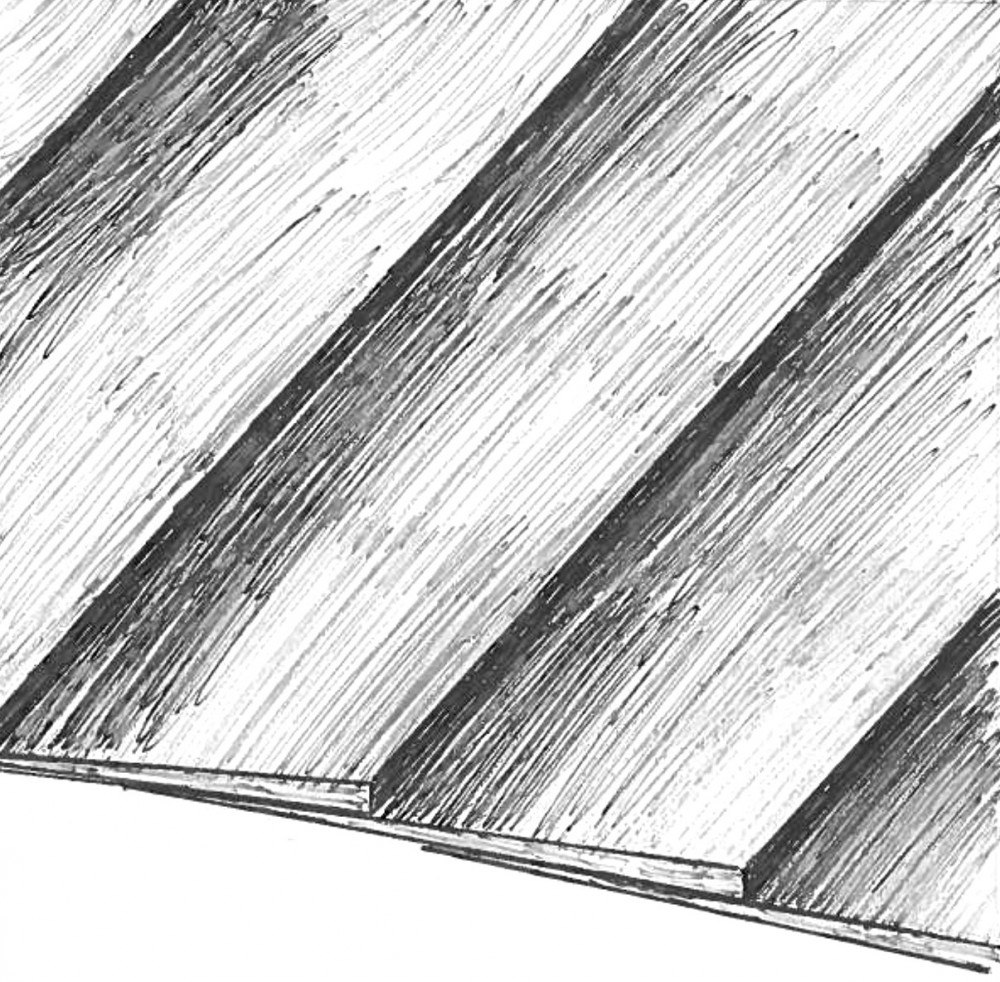 Clapboard Siding Sketch