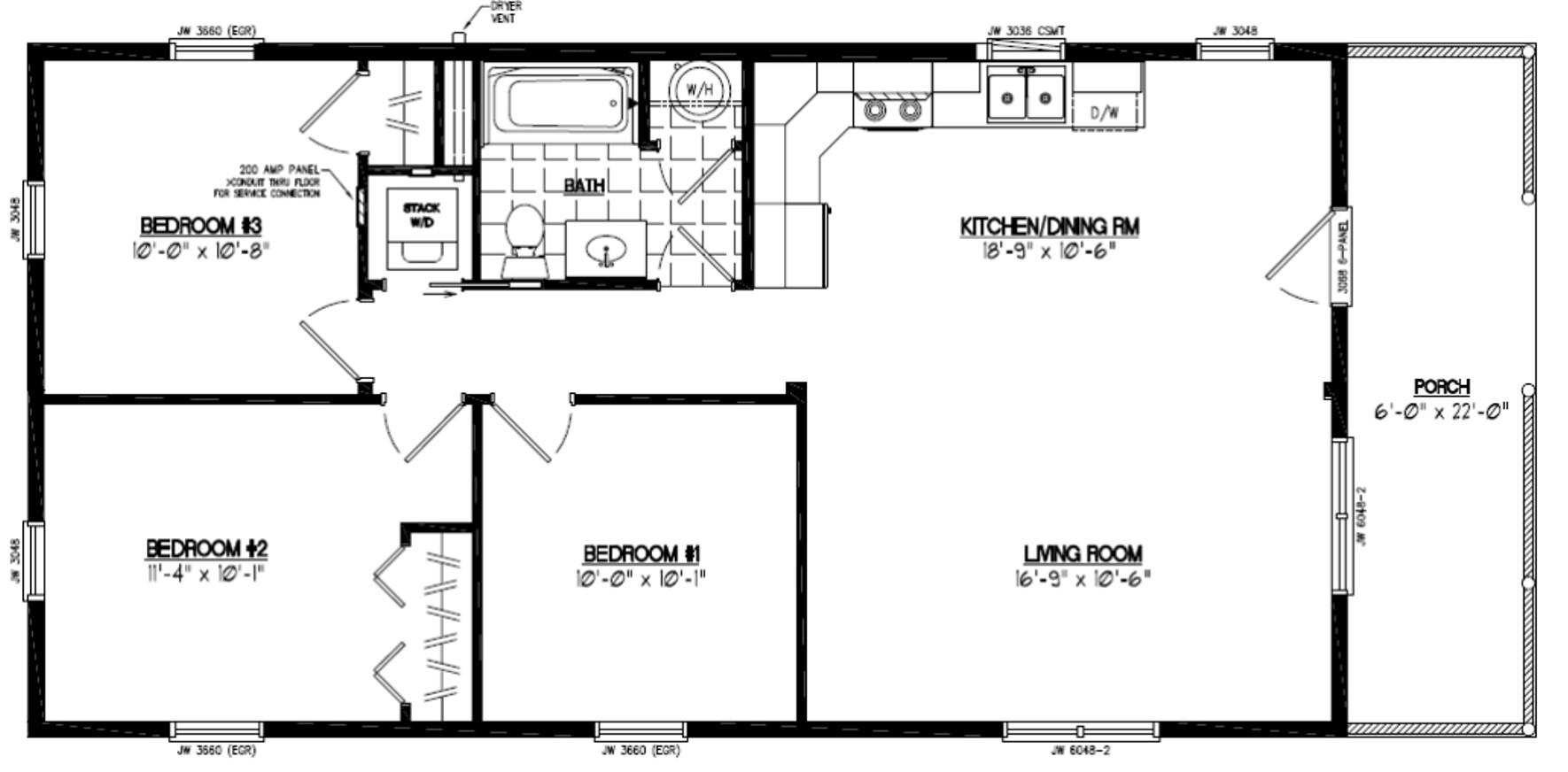 28x48 Settler Certified Floor