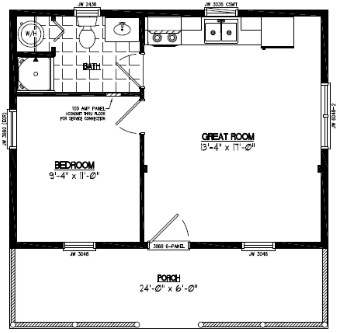 Lincoln Style Certified Home Plans