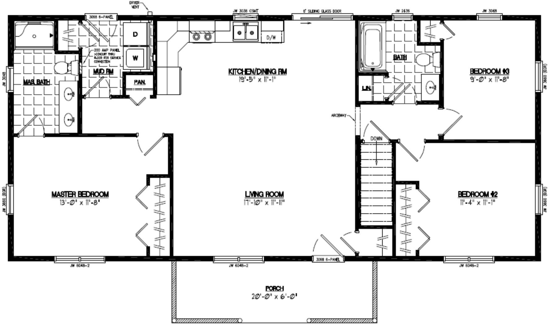 Certified Homes Pioneer Certified Home Floor Plans