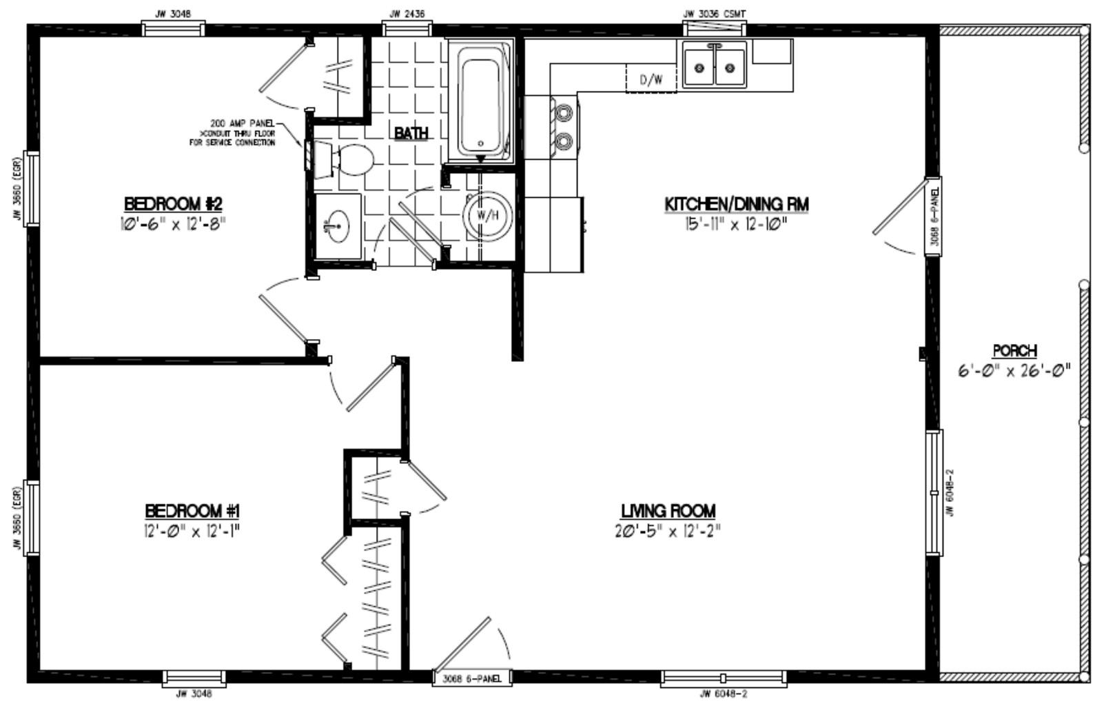 Settler Certified Home Floor Plans