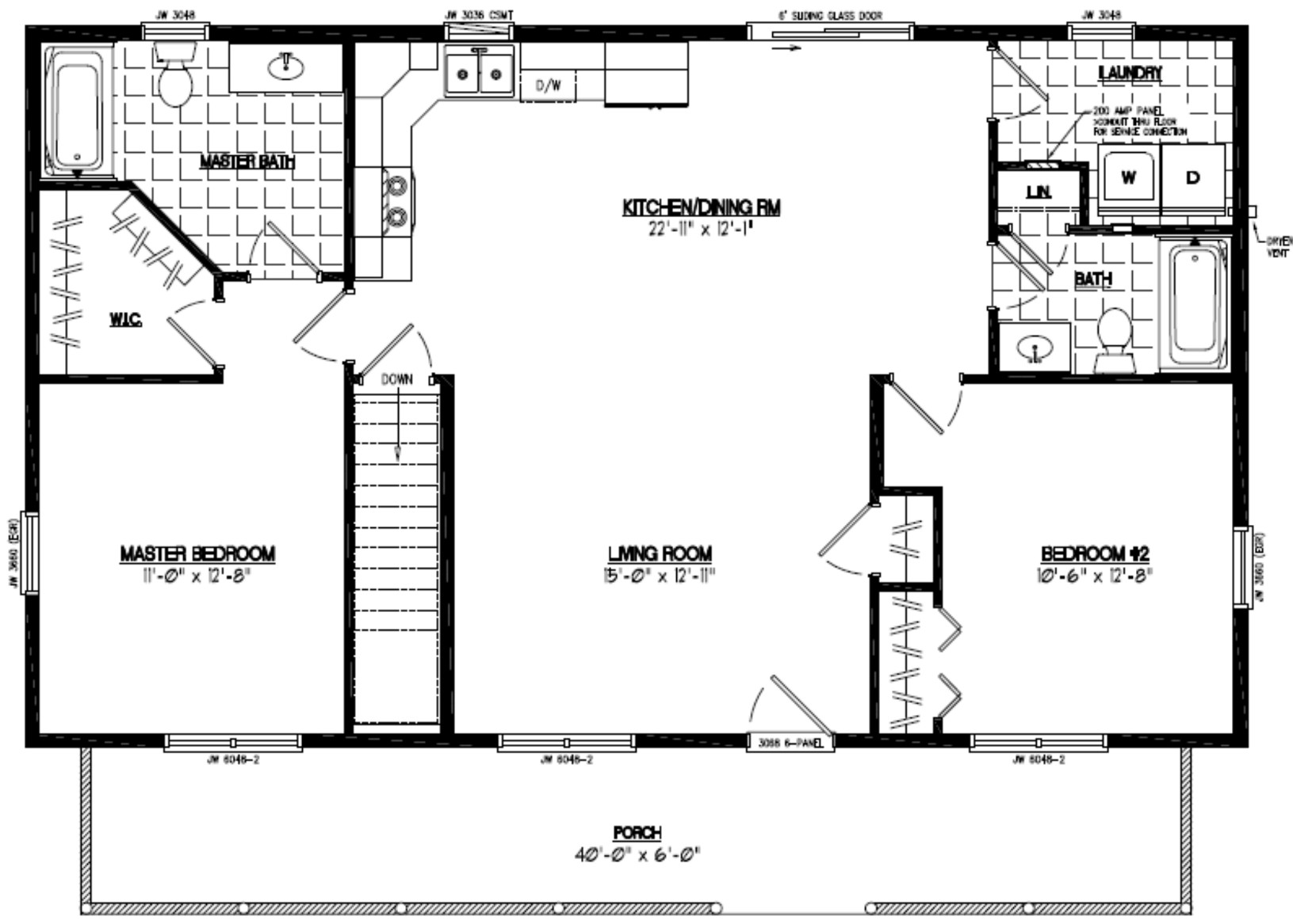 floor plan for a house certified homes musketeer certified home floor plans 5095