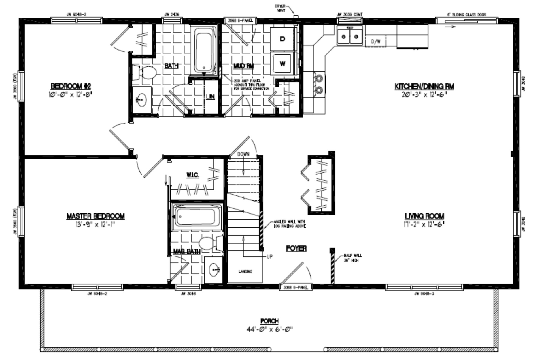 Certified homes mountaineer certified home floor plans for Home floor plans