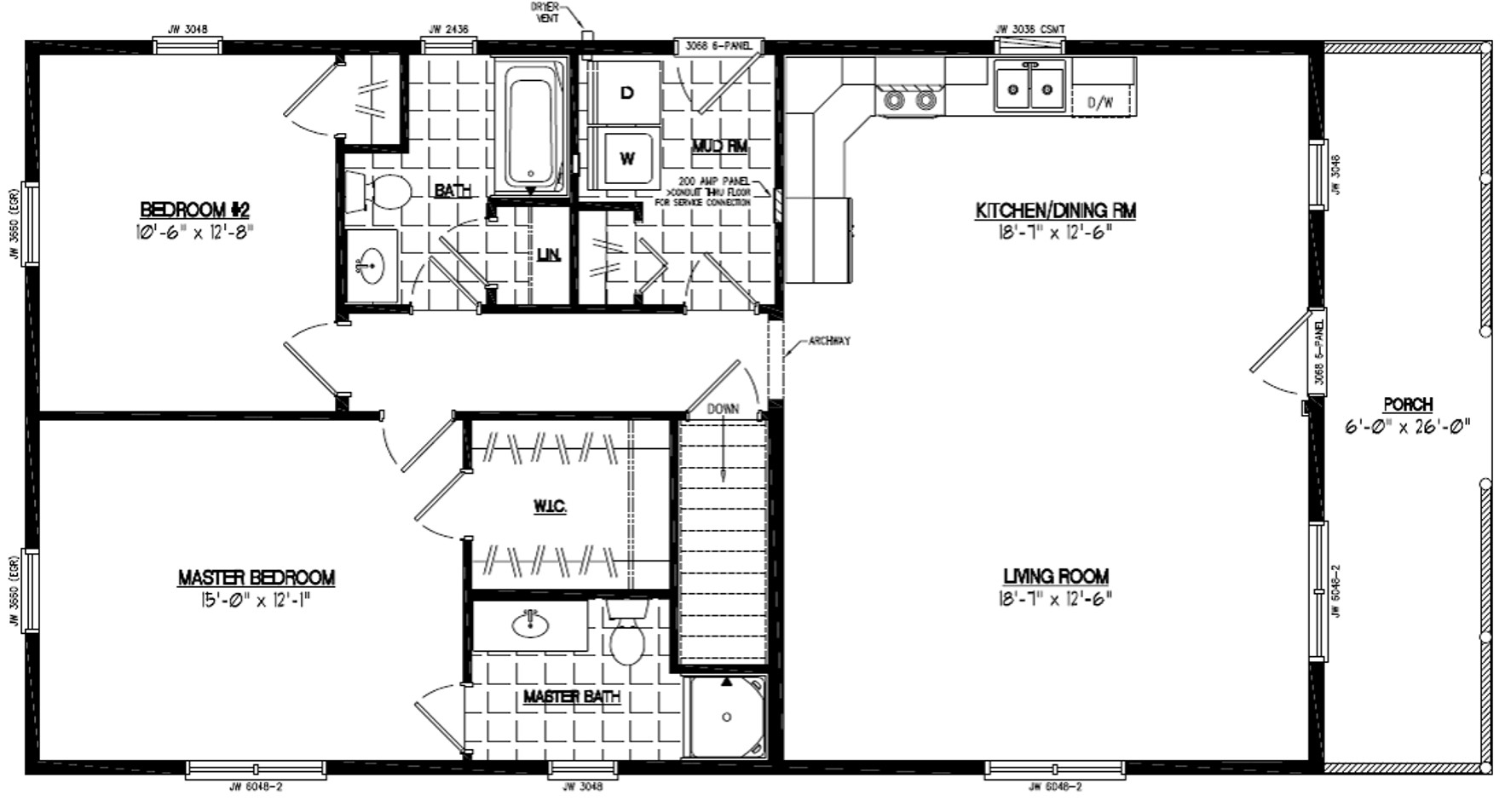Certified homes settler certified home floor plans for Home house plans