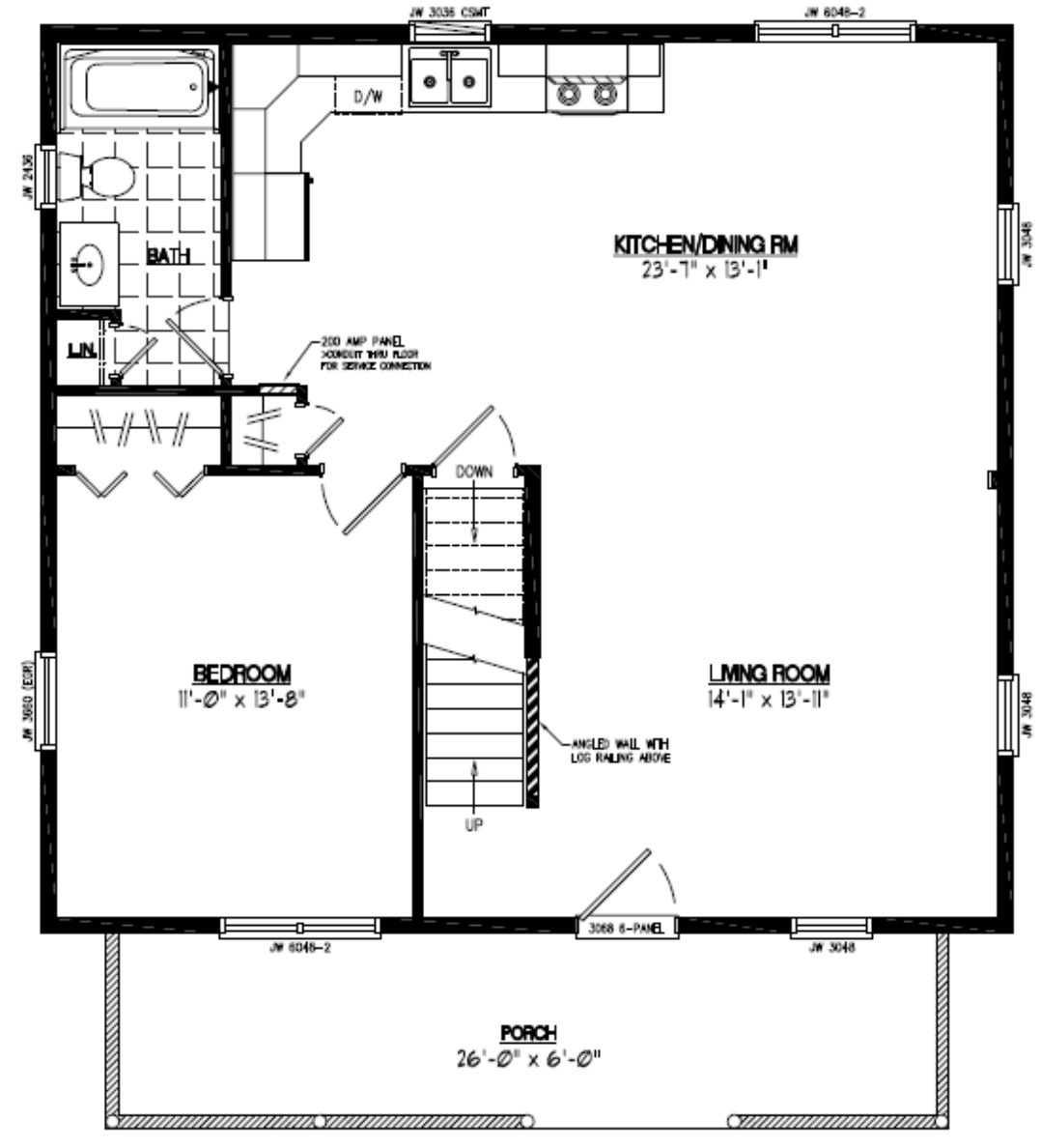 Certified homes mountaineer certified home floor plans for 30 x 40 floor plans