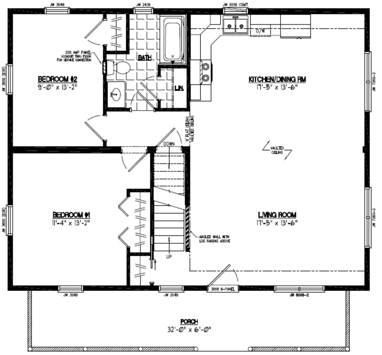 Certified Homes | Mountaineer Deluxe Certified Home Floor Plans