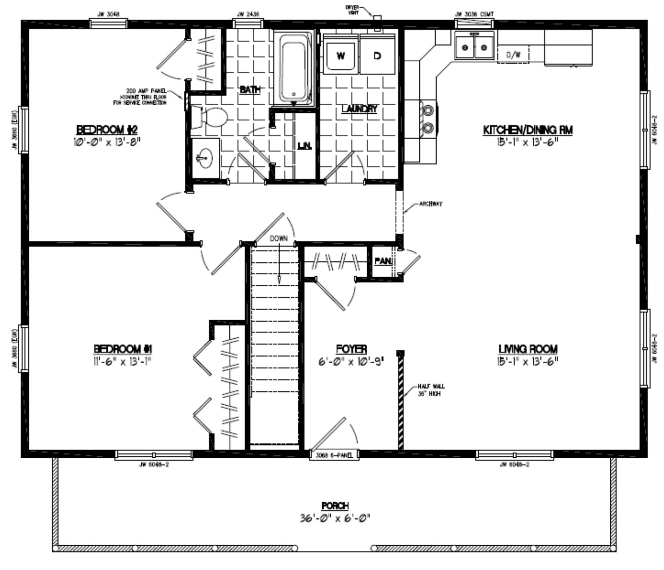 Home Design Plans Video: Musketeer Certified Home Floor Plans