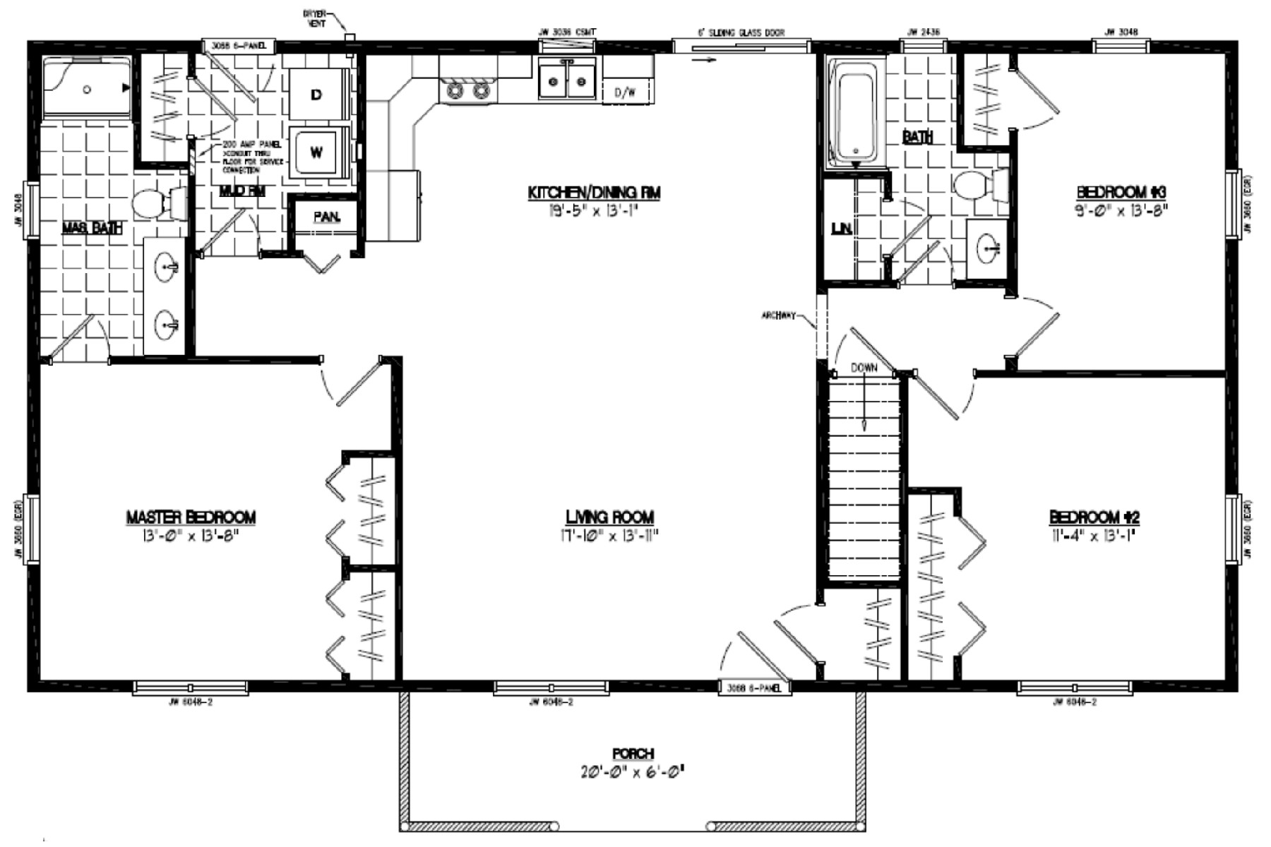 certified homes pioneer certified home floor plans