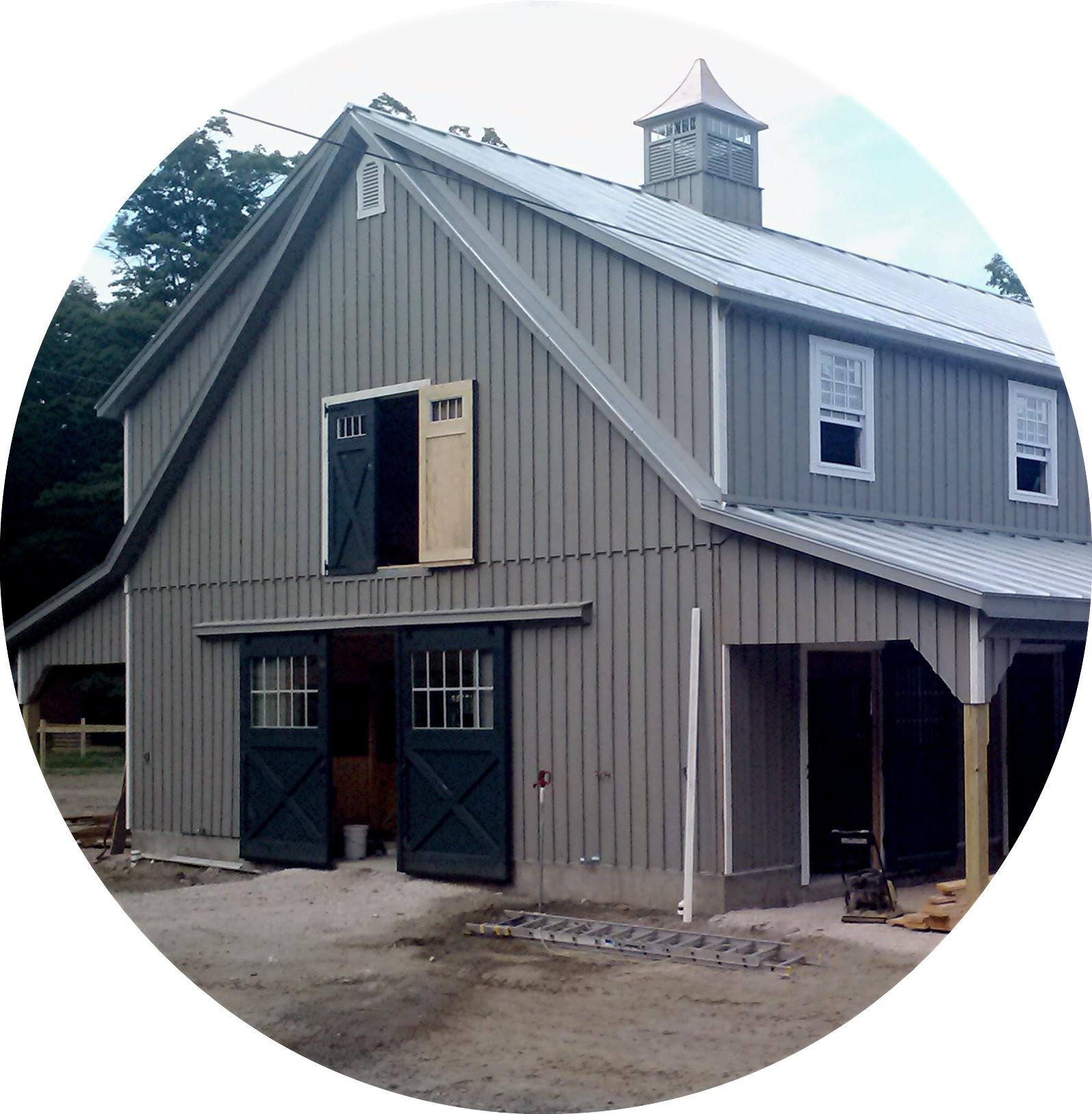 36'x72' High Country Horse Barn
