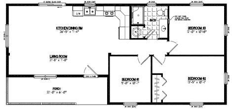 Frontier Floor Plan #22FR603
