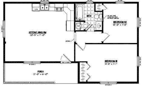 Frontier Floor Plan #24FR602