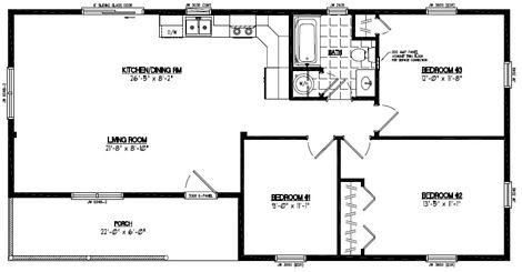 Frontier Floor Plan #24FR603