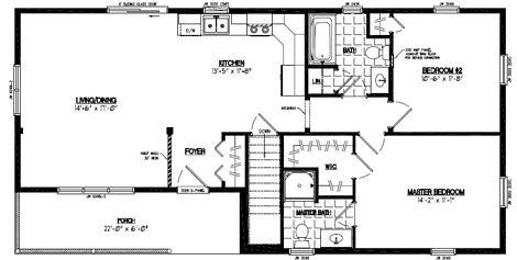 Frontier Floor Plan #24FR605