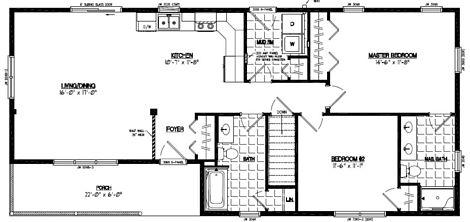 Frontier Floor Plan #24FR606