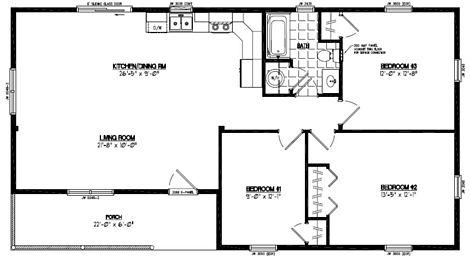 Frontier Floor Plan #26FR603