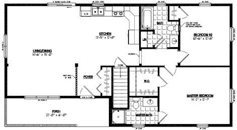 Frontier Floor Plan #26FR605