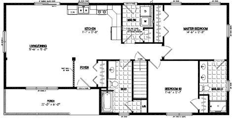 Frontier Floor Plan #26FR606