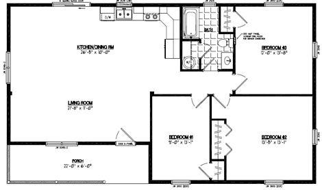 Frontier Floor Plan #28FR603
