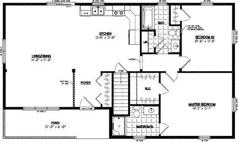Frontier Floor Plan #28FR605