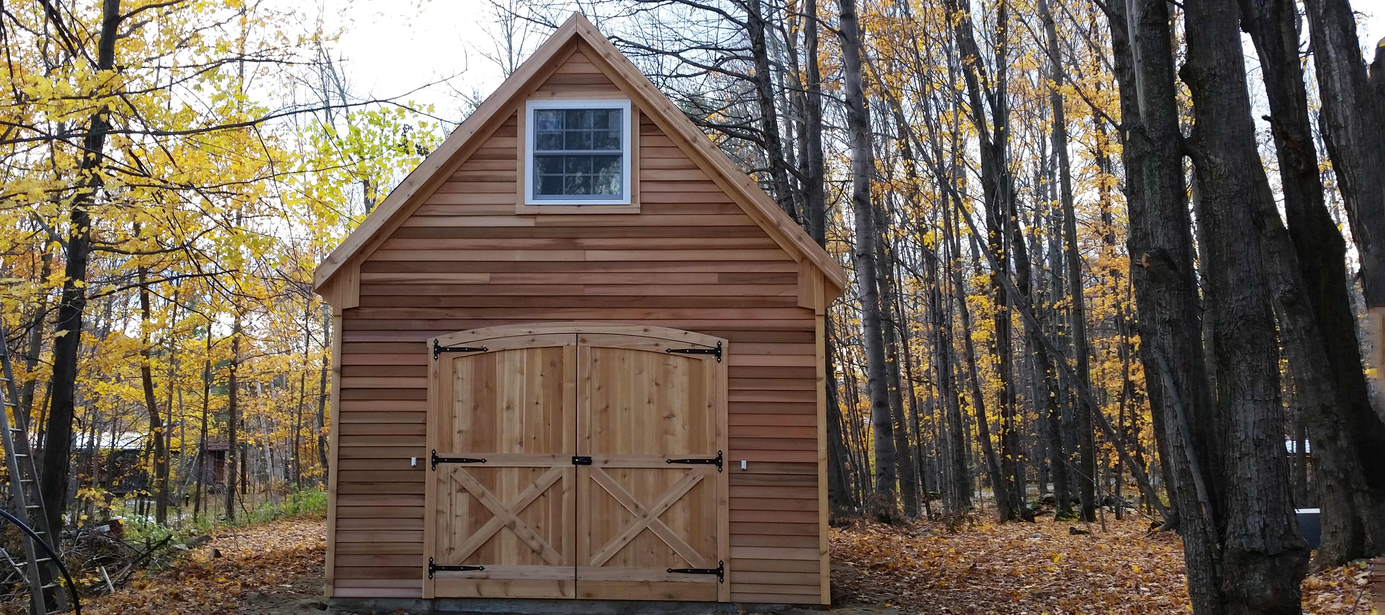 White River Sheds - Custom Barns and Buildings - The Carriage Shed