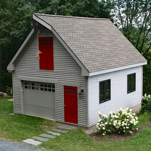 modular single car garages custom barns and buildings