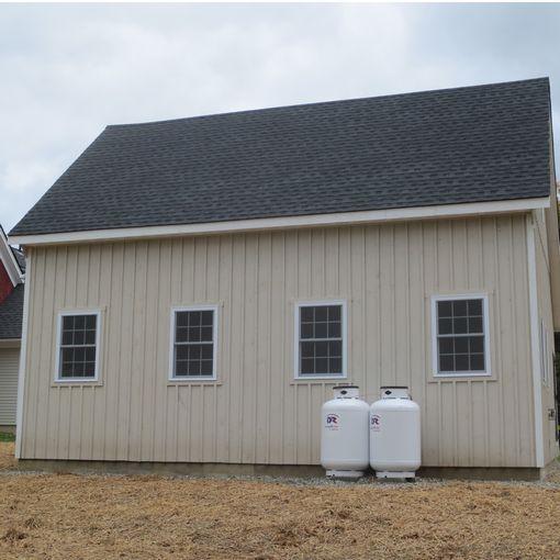 Prefab single car garages custom barns and buildings for Modular garage california