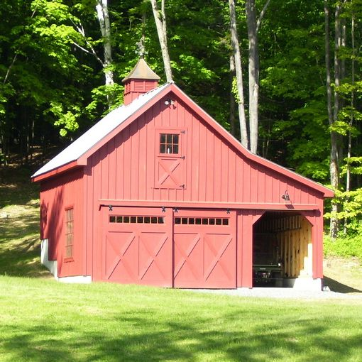 Prefab Single Car Garages Custom Barns And Buildings