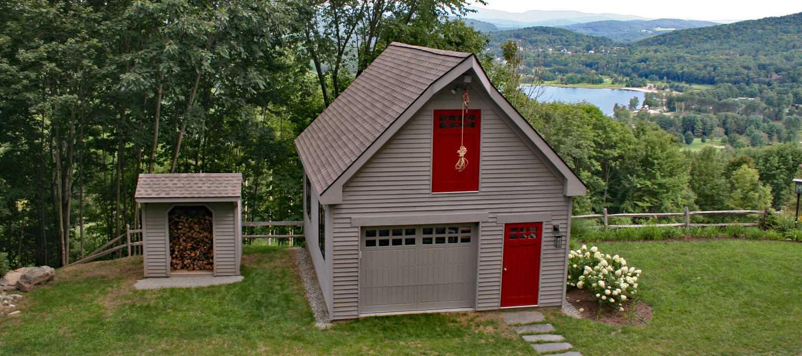 Modular Single Car Garages Custom Barns And Buildings