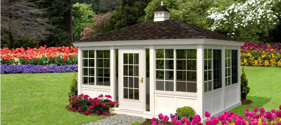 Enclosed Gazebos Custom Barns And Buildings The