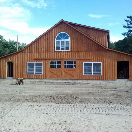 Commercial Space Custom Barns And Buildings The