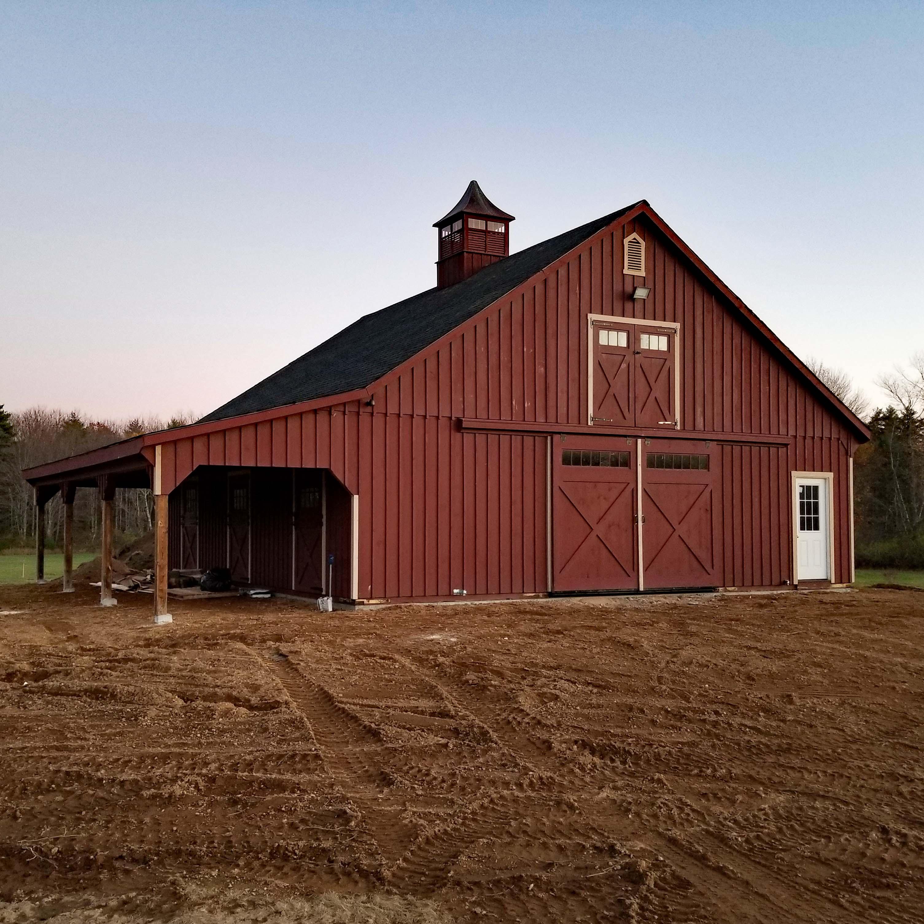 High Country Horse Barn Custom Barns And Buildings The