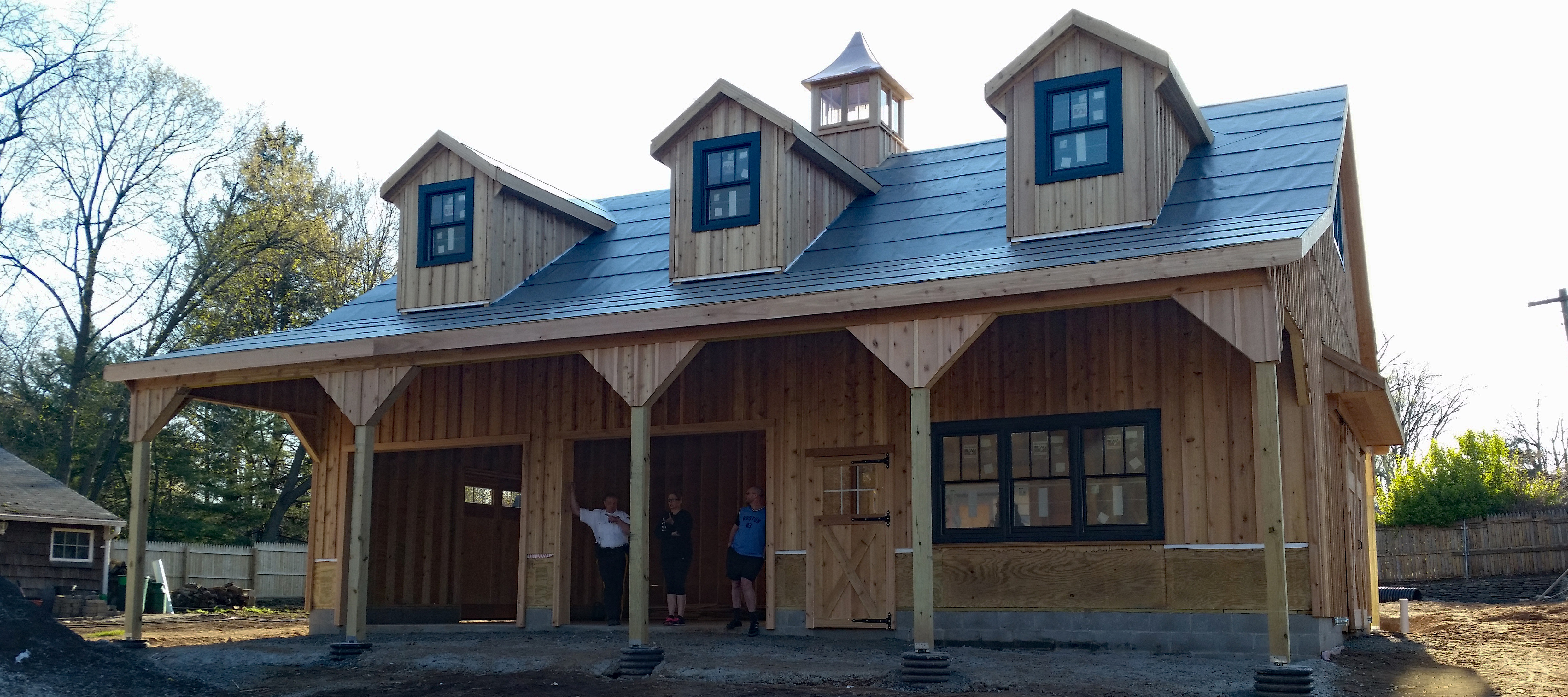 Prefab Two Car Garages Custom Barns And Buildings The Carriage Shed