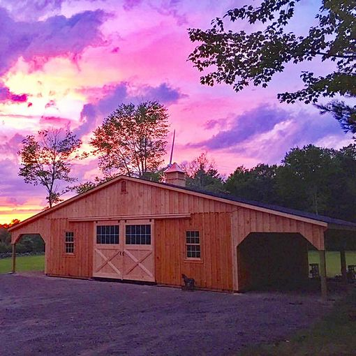 Low Profile Barns Custom Barns And Buildings The